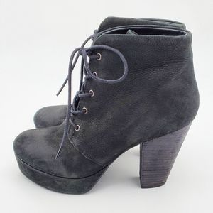 Steve Madden Raspy heeled leather booties